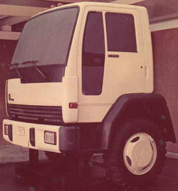 1986 my project of ZIL-truck (COE)