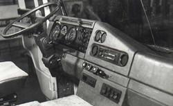 1987 instrument panel of truck (COE)