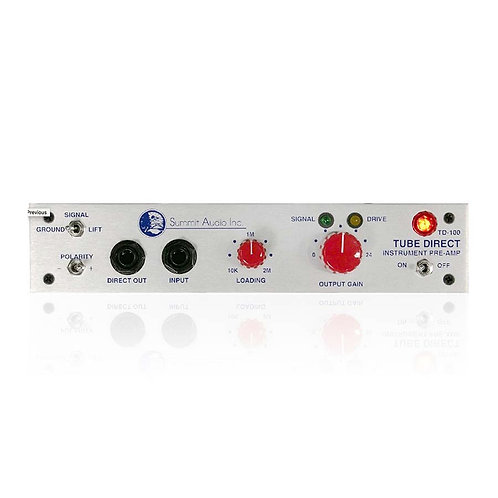 Summit TD-100 Instrument Preamp and D.I.
