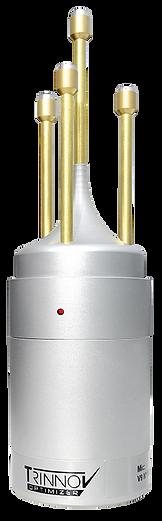 מיקרופון מיוחד למדידה של מערכת טרינוב עם 4 קפסולות