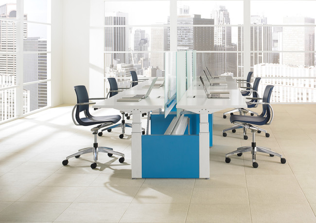TEKNION HEIGHT ADJUSTABLE BENCH LIVELLO