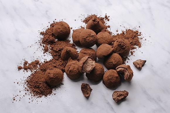 Truffes au chocolat noir B.LANGHE 200g
