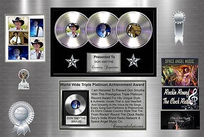 World Wide Triple Platinum Avievement Aw
