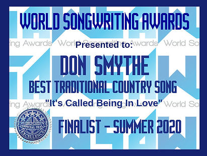 WSA Don Smythe-It's Called Being In Love