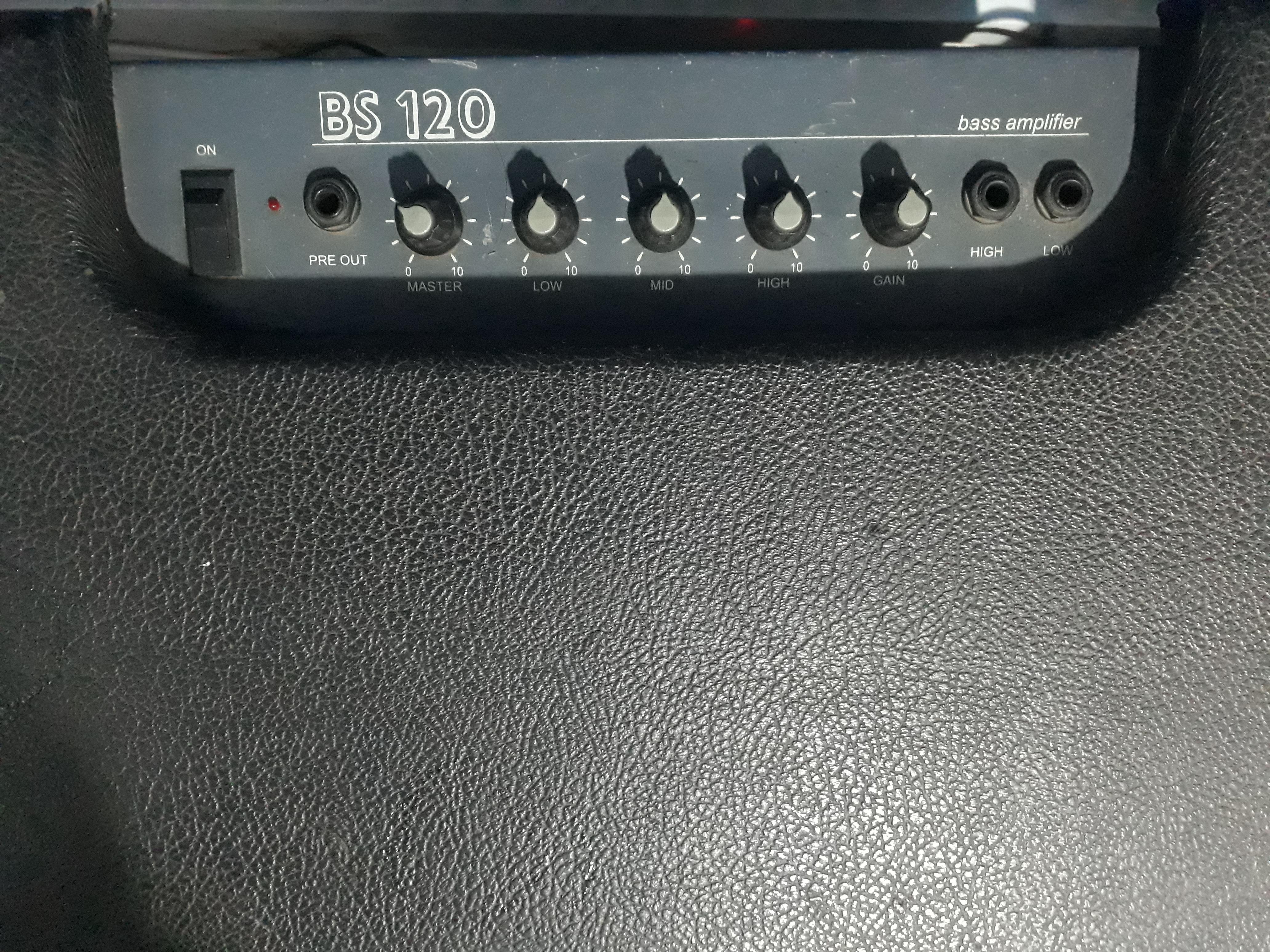 Ampli de Baixo Staner BS 120