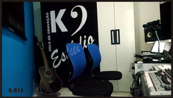 K9 Estúdio - Sala Técnica