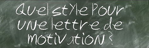 quel style pour une lettre de motivation
