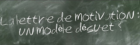 La lettre de motivation,  un modele desu