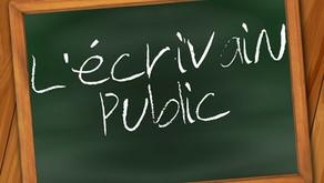 À qui s'adressent les services d'un écrivain public ?