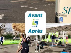 Lancement réussi à Saint-Pierre-des-Corps !