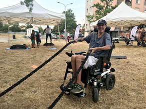 Le sport est accessible aux handicapés au Shizen-Sport-Truck®