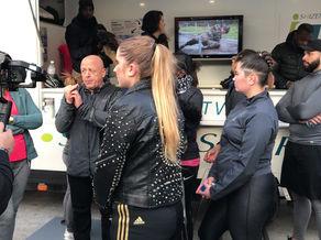 Le Chef Thierry MARX au Shizen Sport-Truck