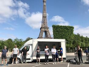 Le Shizen-Sport-Truck® à l'assault de La Tour Eiffel