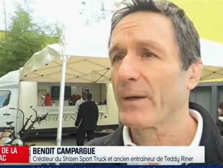BFM et RMC présentent le Shizen-Sport-Truck dans le département des Yvelines