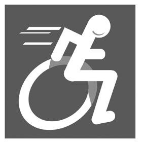 Logo sport pour handicapés