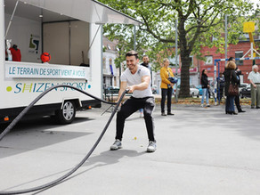 Le Shizen-Sport-Truck® accompagne l'association Pass'sport pour l'emploi à Roubaix !
