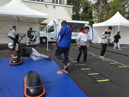 Le Shizen-Sport-Truck® au Lycée Léonard de Vinci