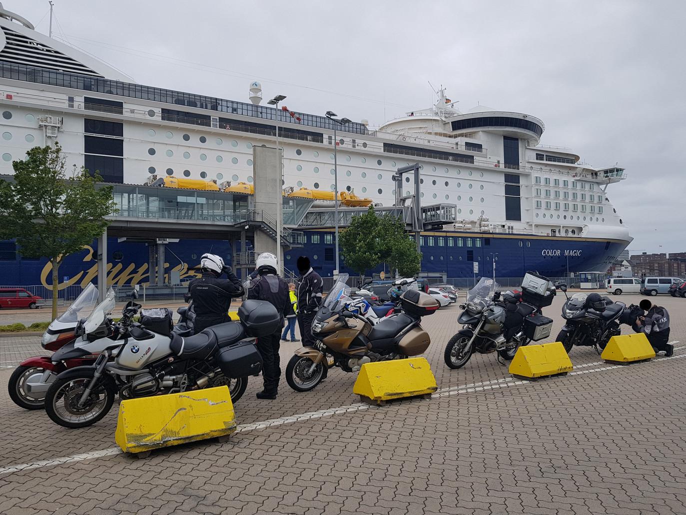 Abfahrt Kiel - Oslo