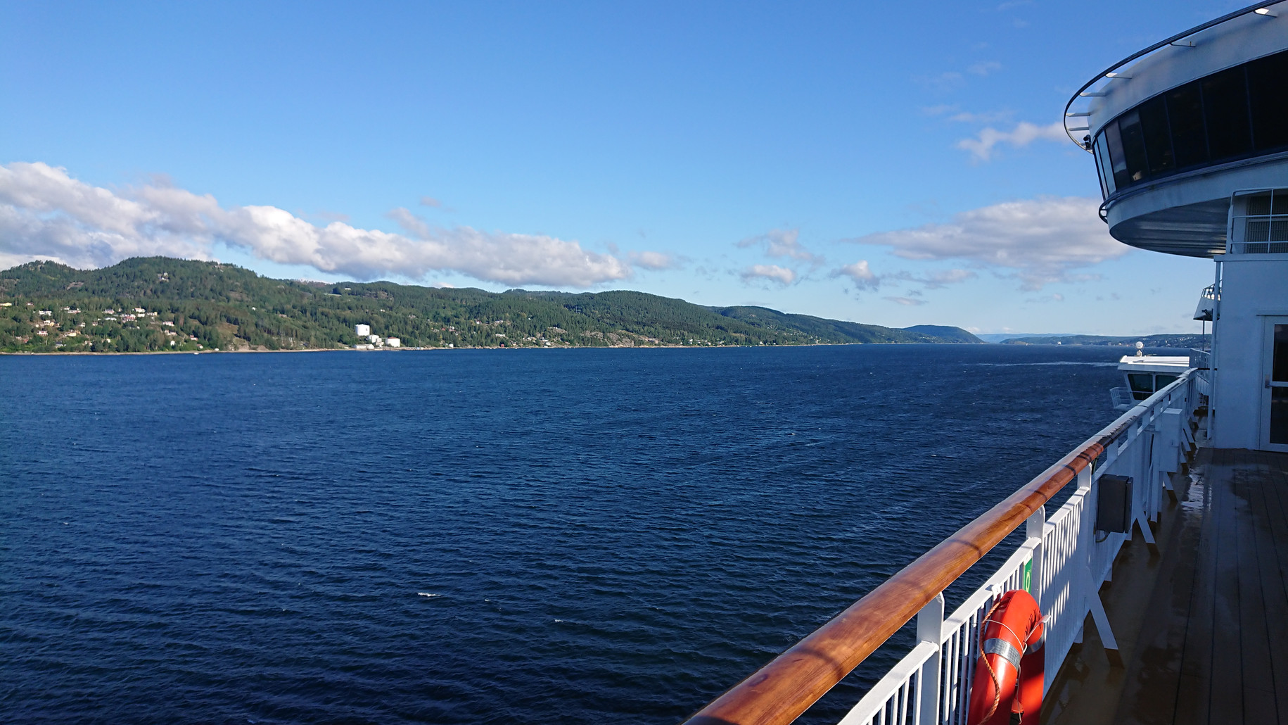 Ankunft in Oslo