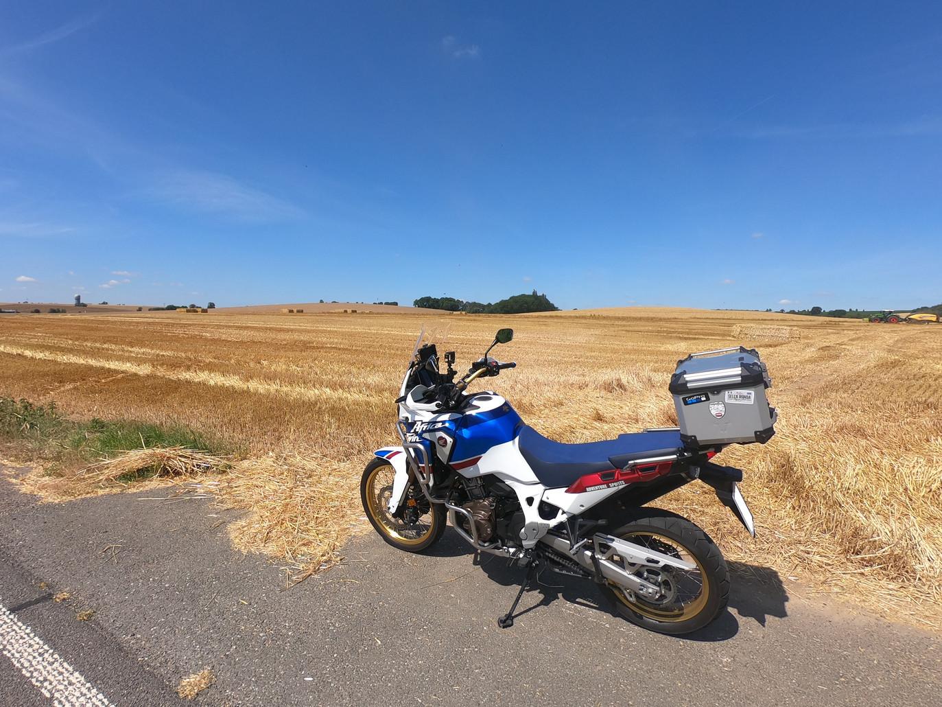 Auf dem Weg ins Vogtland