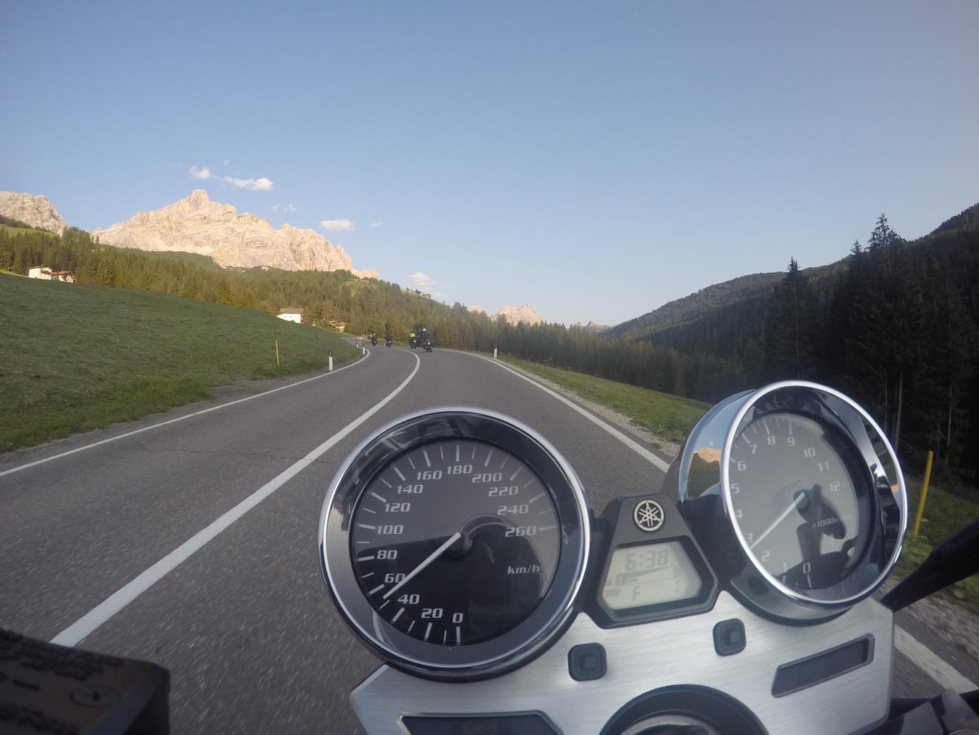 Auf dem Weg nach Cortina D´Ampezzo