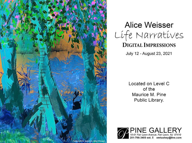 2021 Alice Weisser_ Life Narrative Exhib