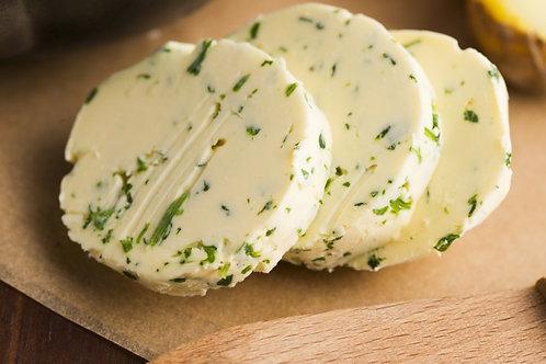 Manteiga Aromatizada com Alho e Ervas de Provence