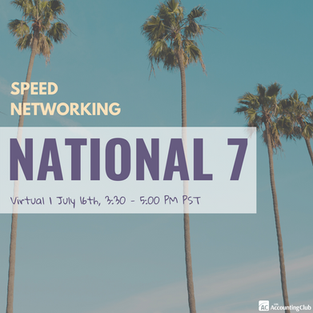 NATIONAL 7 SPEED NETWORKING