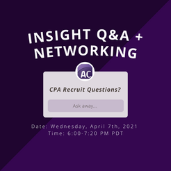 INSIGHT Q&A + NETWORKING