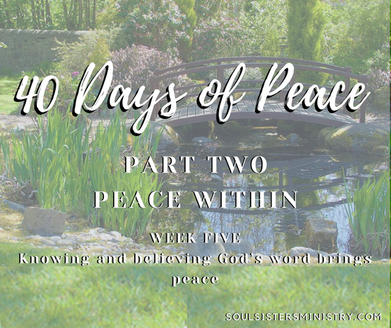 Forty Days of Peace: Day 24