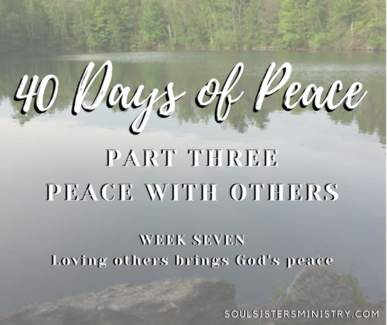 40 Days of Peace: Day 32