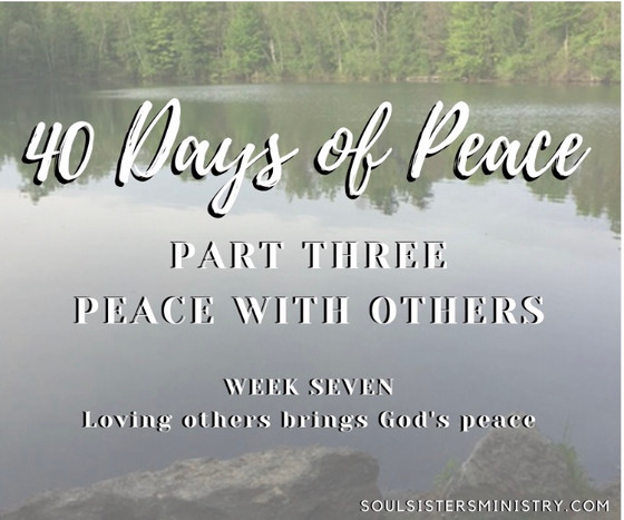 Forty Days of Peace: Day 33