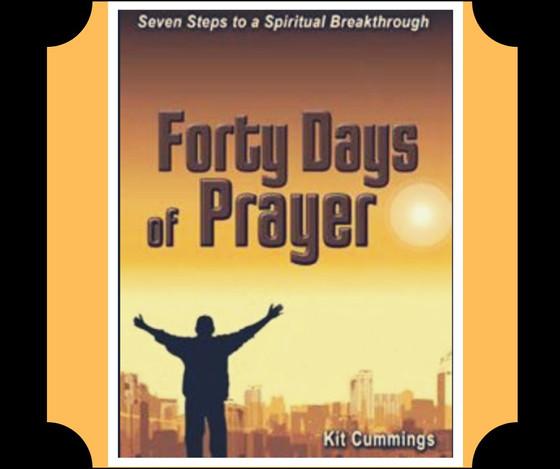 Forty Days of Prayer: Day 20