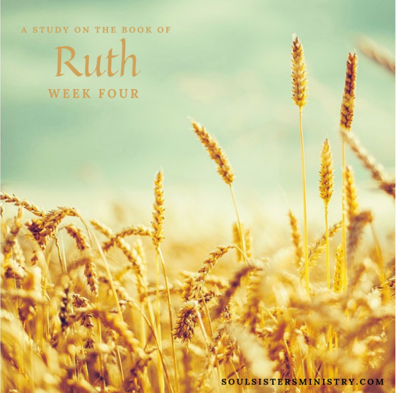 Ruth: Week 3 Wrap-up