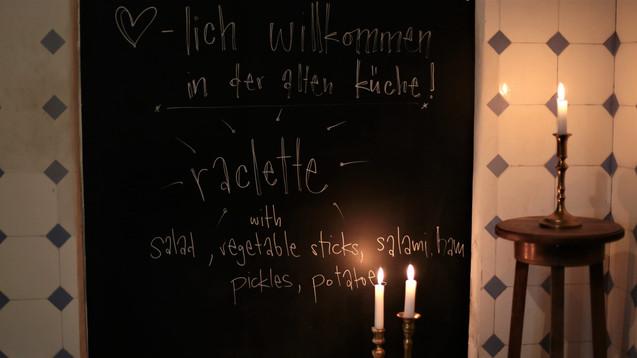 Raclett evening