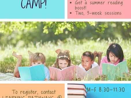 Summer Camp - Reading Adventure Camp!