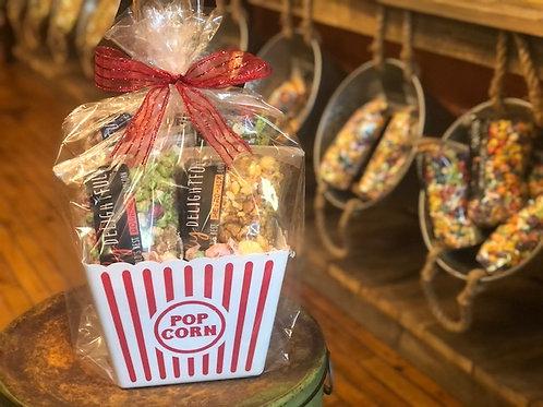 Popcorn Lovers Basket