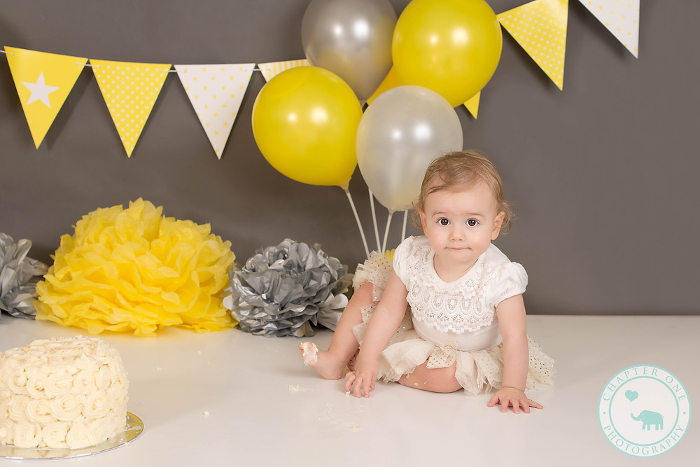 Yellow Cake Smash