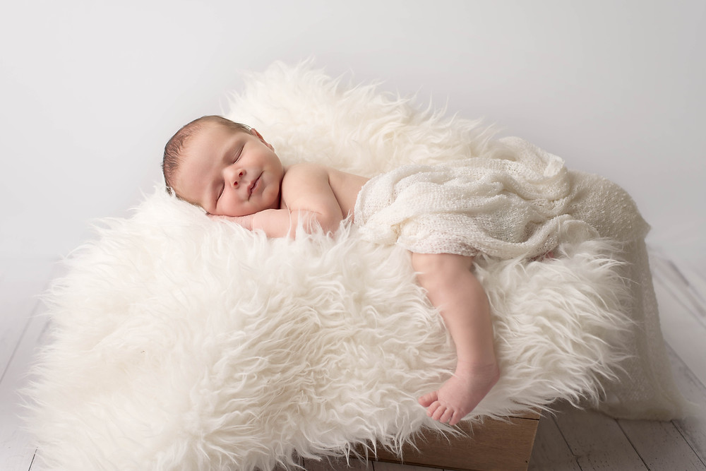 12 day old newborn photo shoot