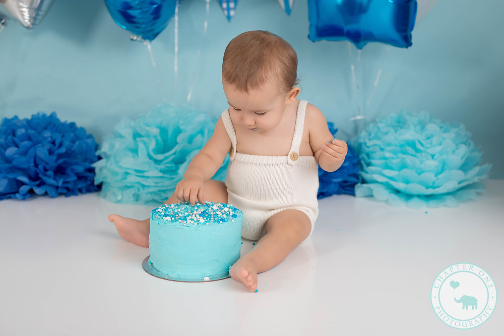 Baby with Cake Sydney Photography