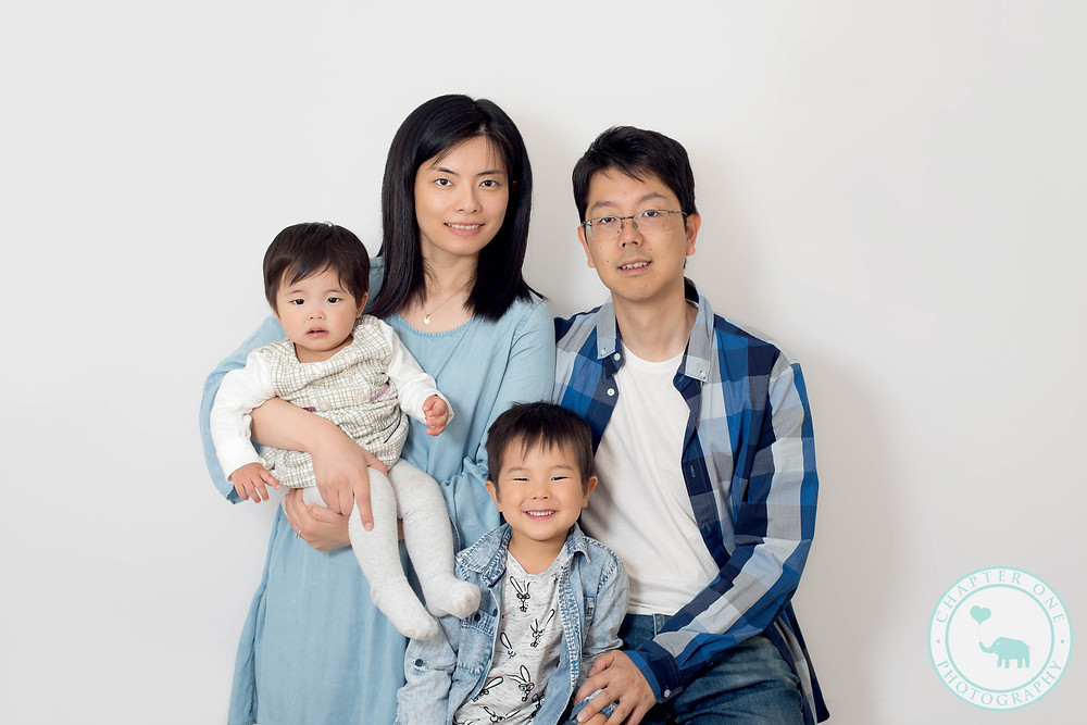 Family with one year old