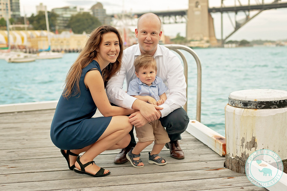 Family Outdoor Photography Sydney Harbour