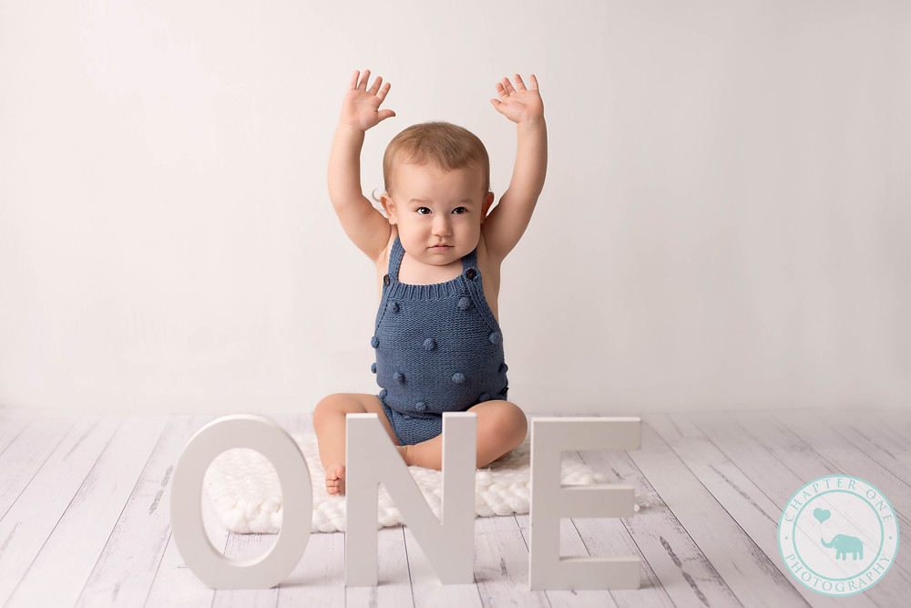 One Year Baby Photography Boy