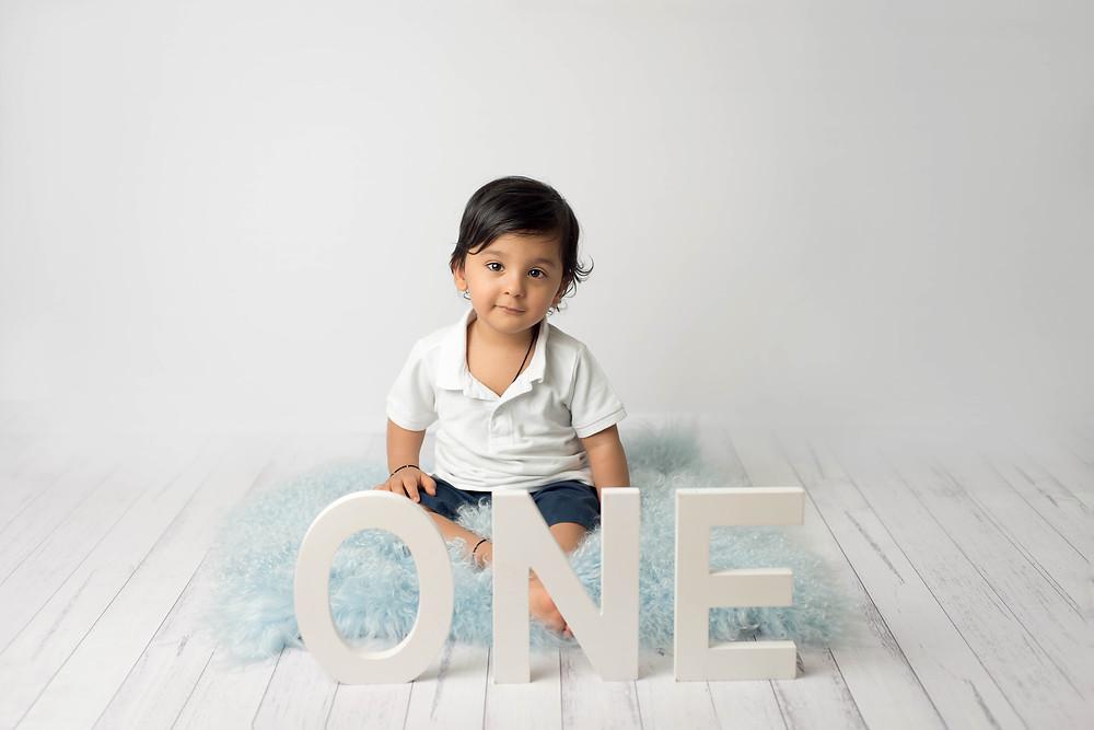 One year old boy