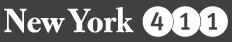 New York 411 logo