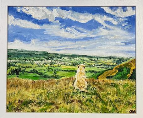 Longridge Valley Oil Painting from Pendl