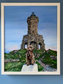 Minnie Oil Painting Darwen Tower Lancash