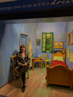 Sophia Williams in Van Gogh
