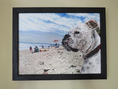 Dog Oil Painter
