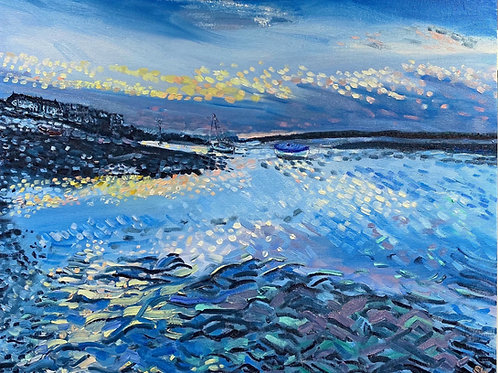 As the Sun Sets - Burnham Overy Staithe